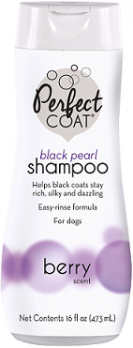 8in1 PC Black Pearl шампунь-кондиционер для собак для темных окрасов с ароматом бойзен-ягоды 473 мл