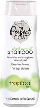 8in1 PC Shed Control шампунь для собак против линьки с тропическим ароматом 473 мл