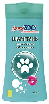 Доктор ЗОО ШАМПУНЬ для мытья лап у собак и кошек 250мл
