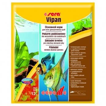 Sera Корм для рыб основной в хлопьях VIPAN   12 г (пакетик)