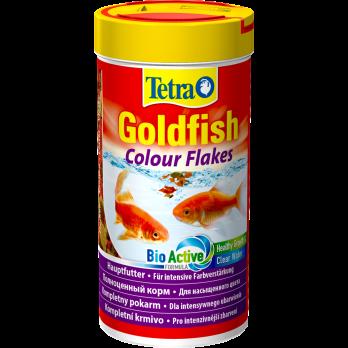 Tetra Goldfish Colour корм в хлопьях для улучшения окраса золотых рыб