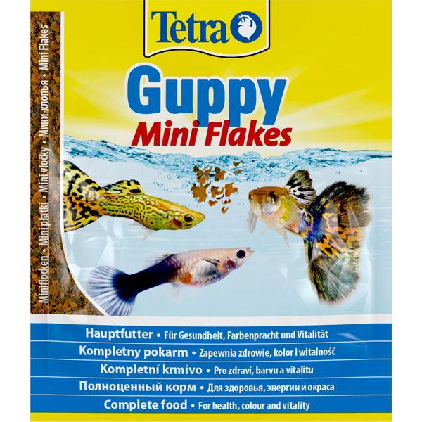 Tetra Guppy корм в хлопьях для гуппи