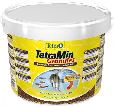 Tetra Min Granules корм для всех видов рыб в гранулах