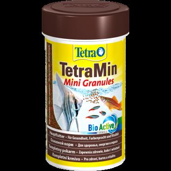 Tetra Min Mini Granules корм в mini гранулах для молоди и мелких рыб 100 мл