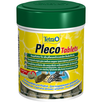 TETRA PLECO tabletes корм для любых травоядных донных рыб 275 шт