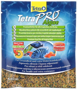 Tetra PRO Alage С концентратом спирулины для повыш.сопротив.организма