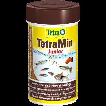 Tetra Min Junior корм в хлопьях для молоди рыб 100 мл