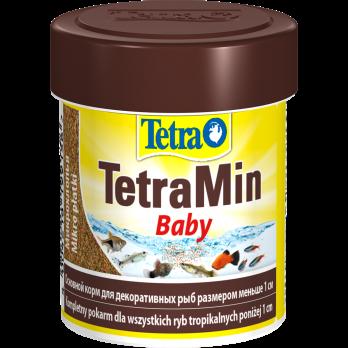 Tetra Min Baby корм для мальков до 1 см мелкая крупа 66 мл