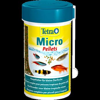 Tetra Micro Pellets корм для мелких видов рыб 100 мл
