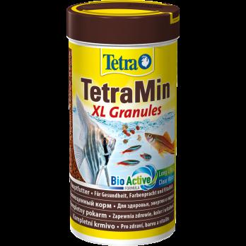 Tetra Min XL Granules корм для всех видов рыб крупные гранулы 250 мл