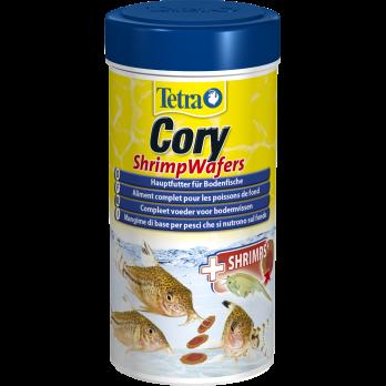 Tetra Cory Shrimp Wafers корм-пластинки с добавлением креветок для сомиков-коридорасов