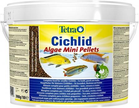 Tetra Cichlid Algae Mini корм для всех видов цихлид 10 л (ведро)