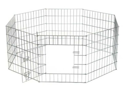 Beeztees Клетка для щенков 8-ми угольная стальная проволока 60*63см