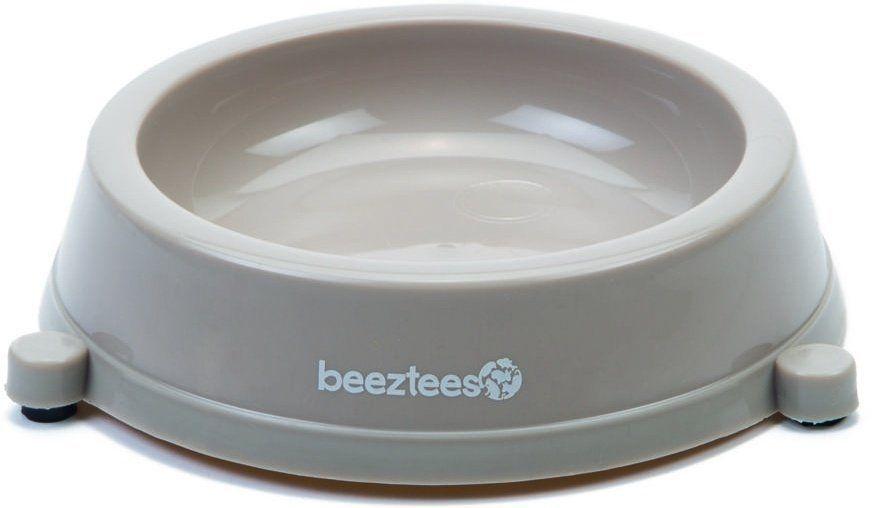 Beeztees Миска для кошек пластиковая нескользящая бежевая 200мл