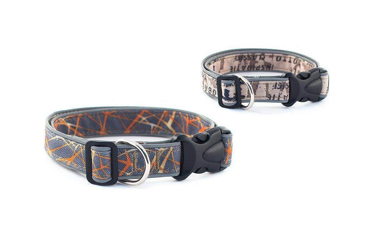 Дарэлл 411225черн Ошейник синтетический ТЕХ-REFLEX со светоотражающим кантом 25мм*35-55см