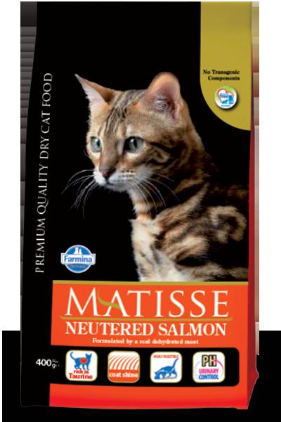 Farmina MATISSE для стерилизованных кошек лосось