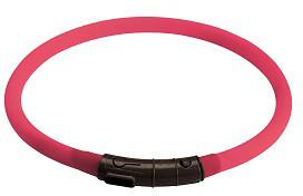 Hunter cветящийся шнурок на шею LED Yukon 20-70 см розовый