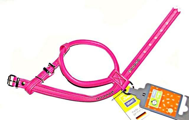 Hunter Smart шлейка для собак Modern Art R&S Luxus 45/11 (30/37-43 см) кожзам розовый