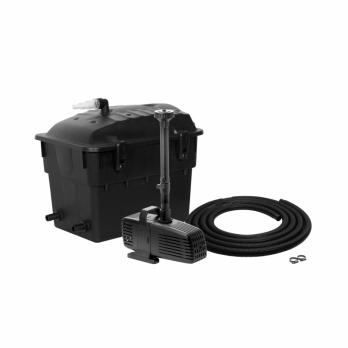 AQUAEL Прудовой комплект Klar Jet  5000 фильтр, помпа с фонтанной насадкой, UV стерилизатор, шланг -для пруда объемом 5000л