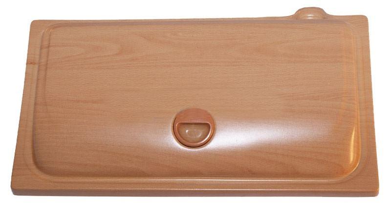 Крышка прямоугольная AquaPlus STD  500*300, бук, с лампой Т8 1х14 Вт.