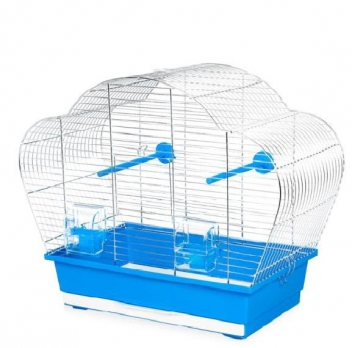 Клетка InterZoo  P-016 BETA ZINC (560х280х450мм), для птиц прут цинк