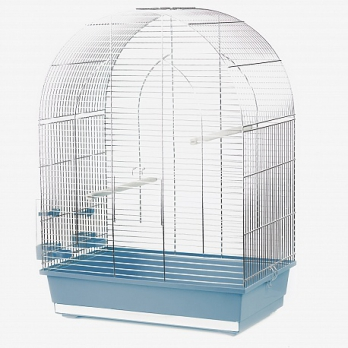 Клетка InterZoo  P-043 LUSI III ZINC (540х340х750мм), для птиц, прут цинк