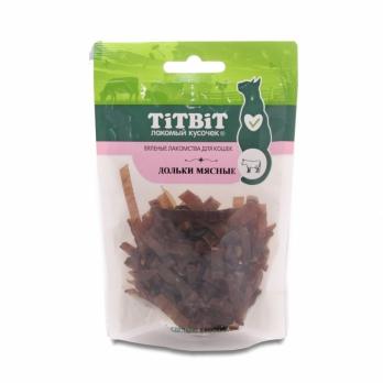 TiTBiT Вяленые лакомства для кошек, желудок говяжий